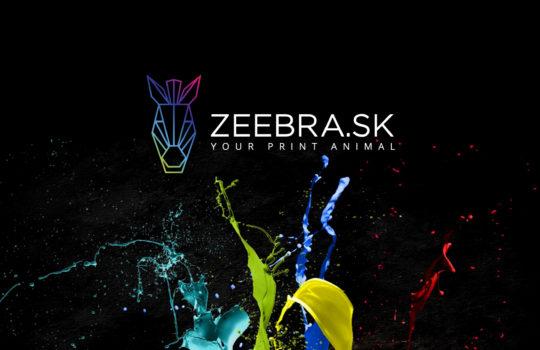 Logo for ZEEBRA.SK